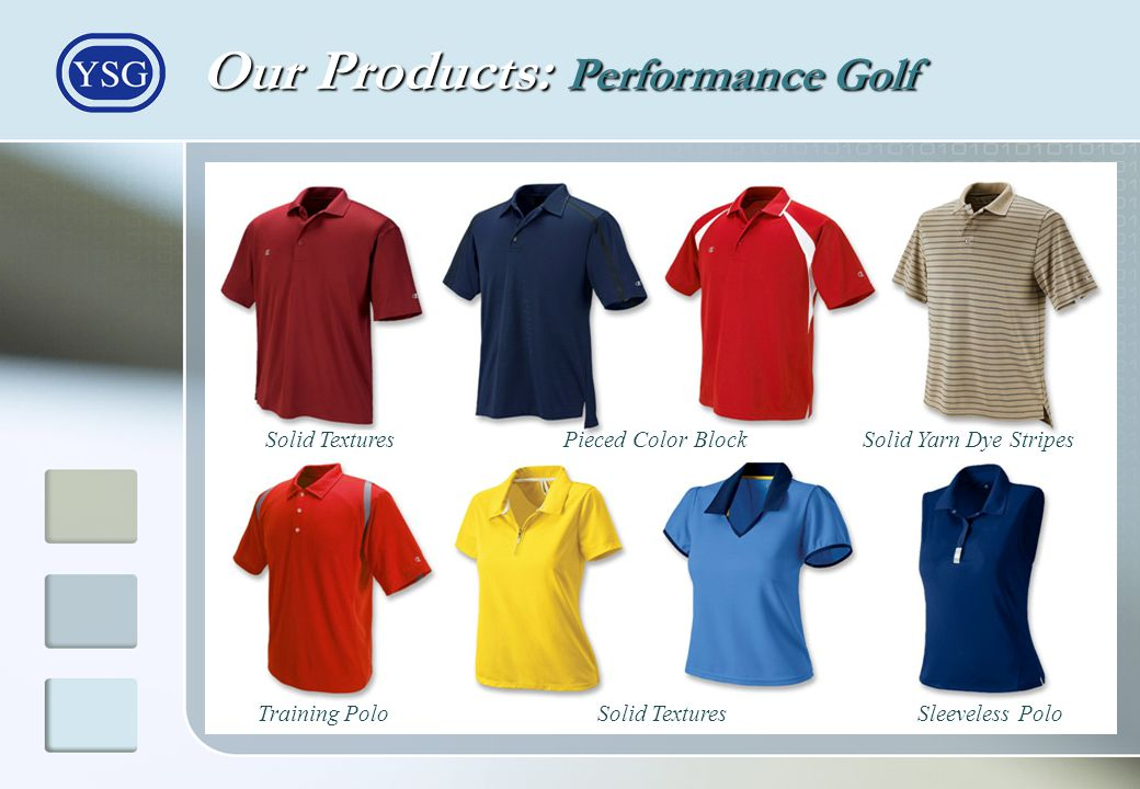 Our Products: Performance Golf