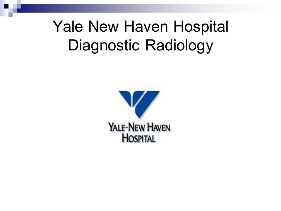 Yale New Haven Hospital Diagnostic Radiology