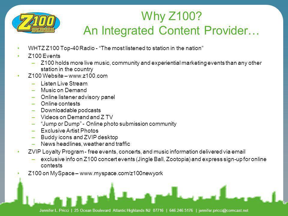 "Z100 Prospects: A ""VBR"" Report - ppt download"