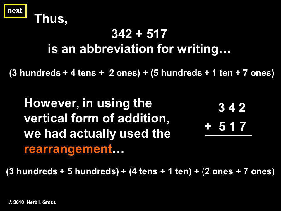 is an abbreviation for writing…