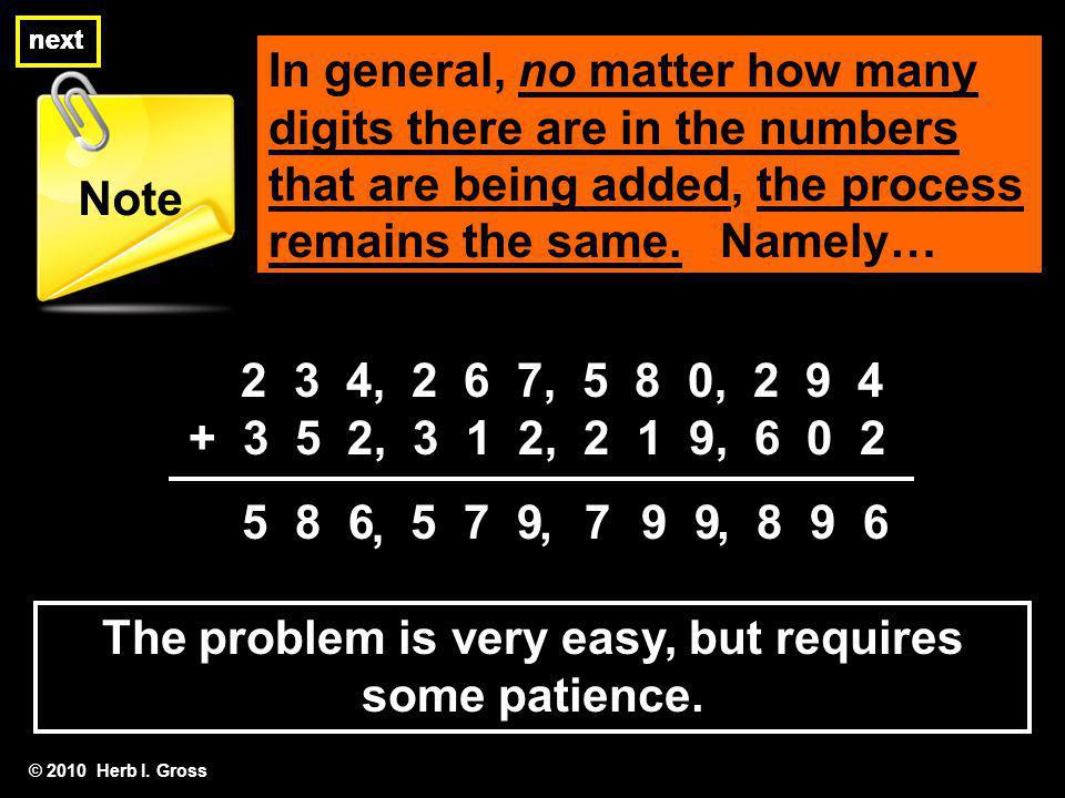 The problem is very easy, but requires some patience.