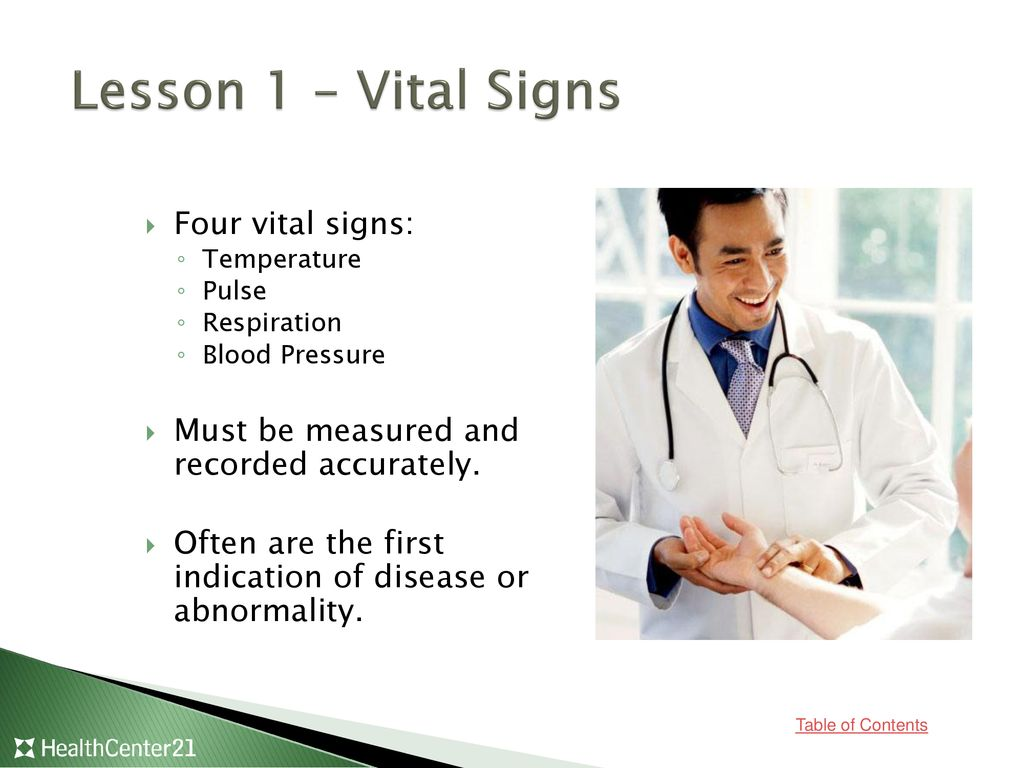 Vital Signs and Body Measurements - ppt download