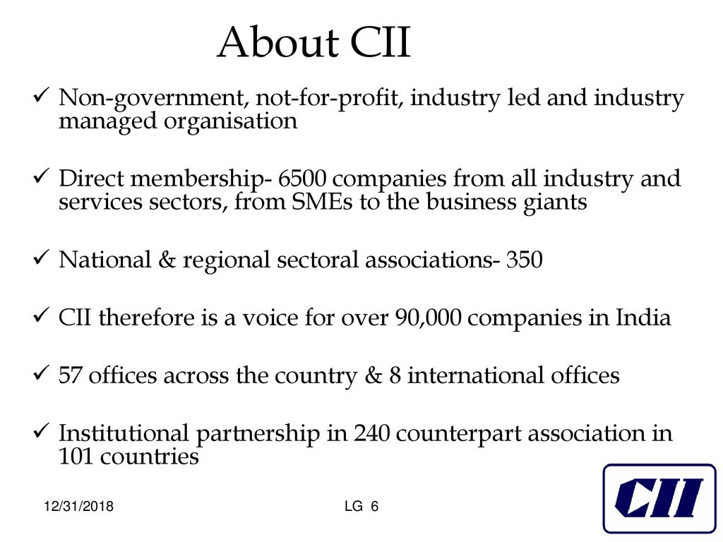 Advocacy Campaigns of CII - ppt download