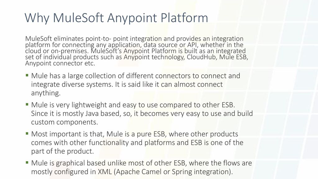Integration and API development (With MuleSoft Anypoint Platform