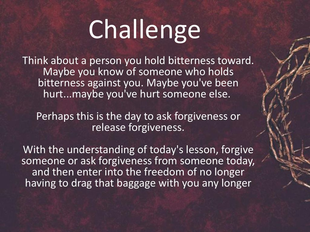The Spirit Of Forgiveness Ppt Download