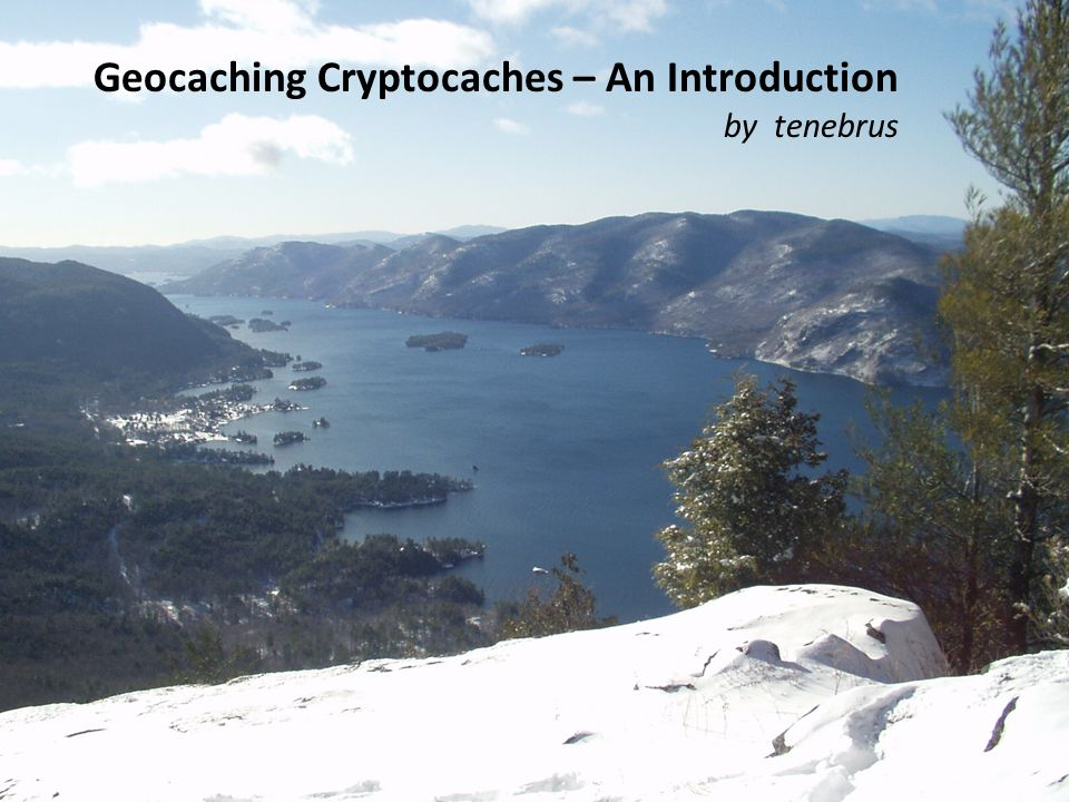 Geocaching Cryptocaches – An Introduction
