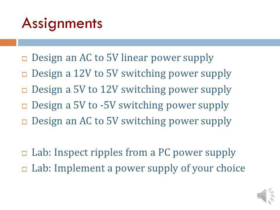 Basic Electronics Part 2: Power Supply Design - ppt video