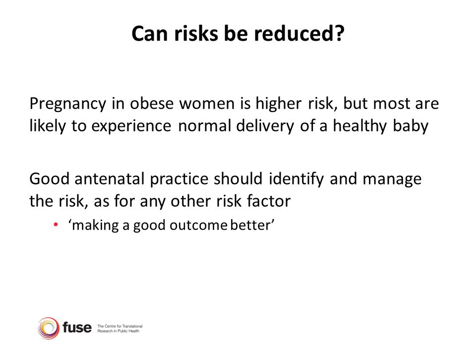 Discussing Maternal Obesity - ppt download