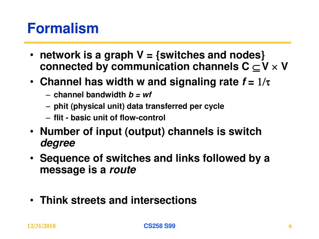 Interconnection Network Design - ppt download