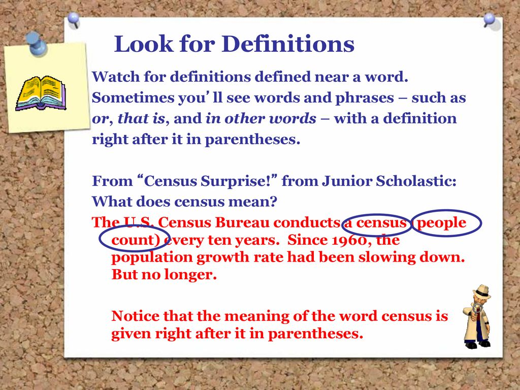 look for definition