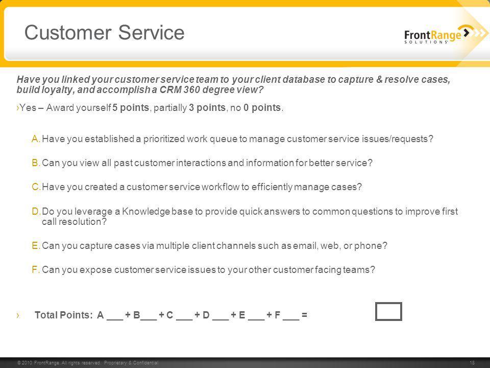 Customer Relationship Management Assessment - ppt video