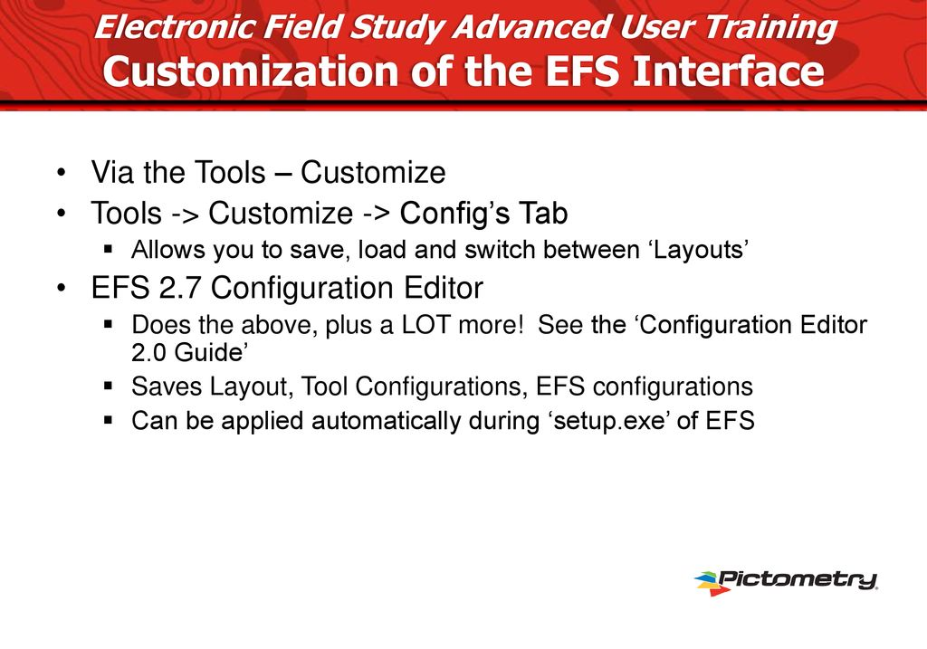 Electronic Field Study Advanced User Training - ppt download