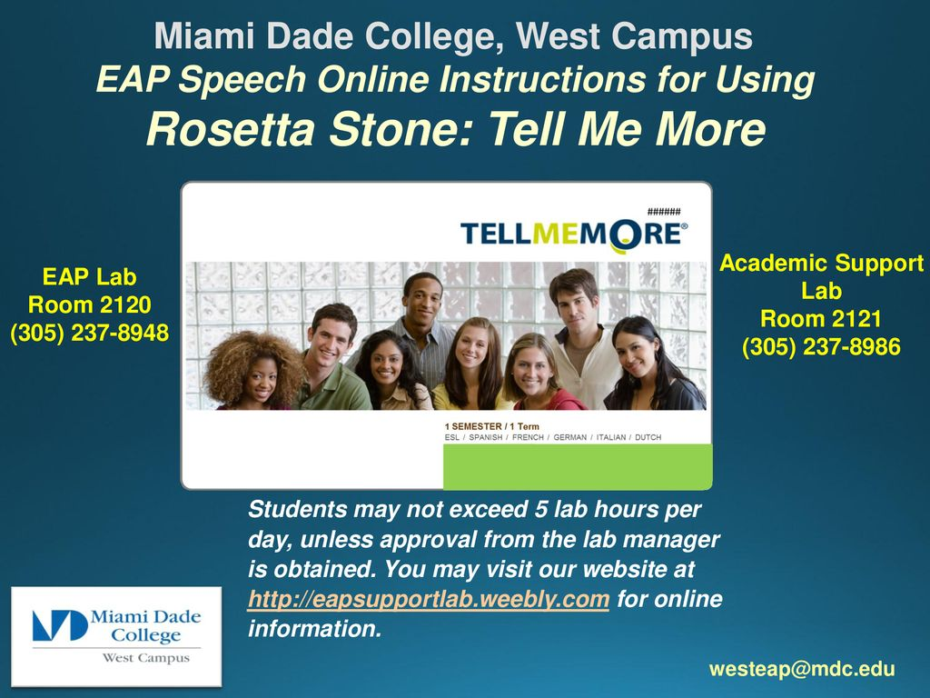 Rosetta Stone: Tell Me More - ppt download