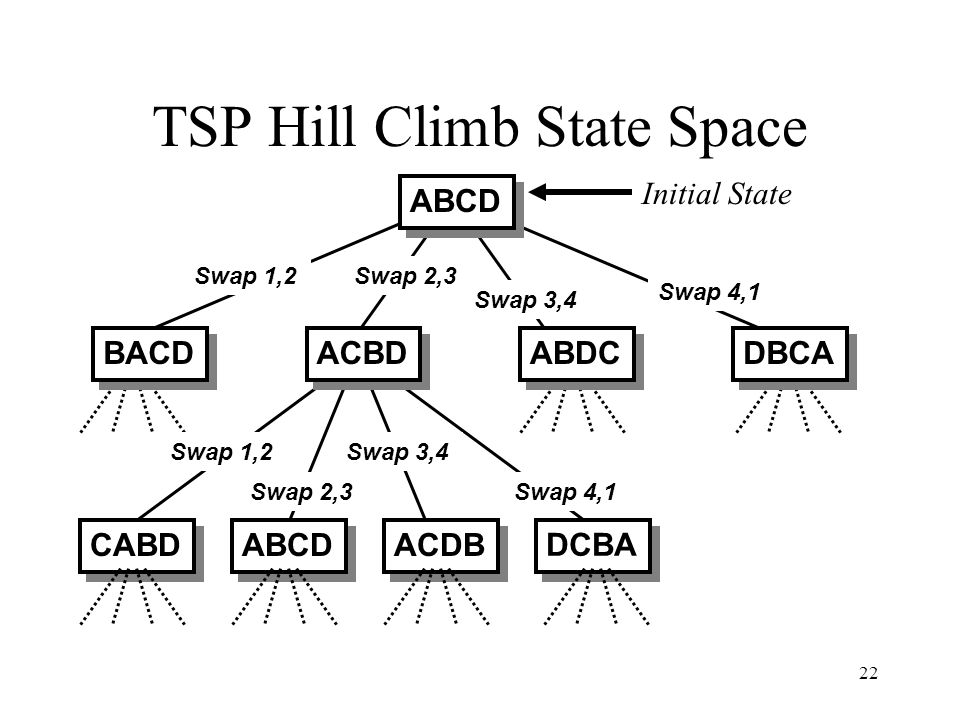 TSP Hill Climb State Space