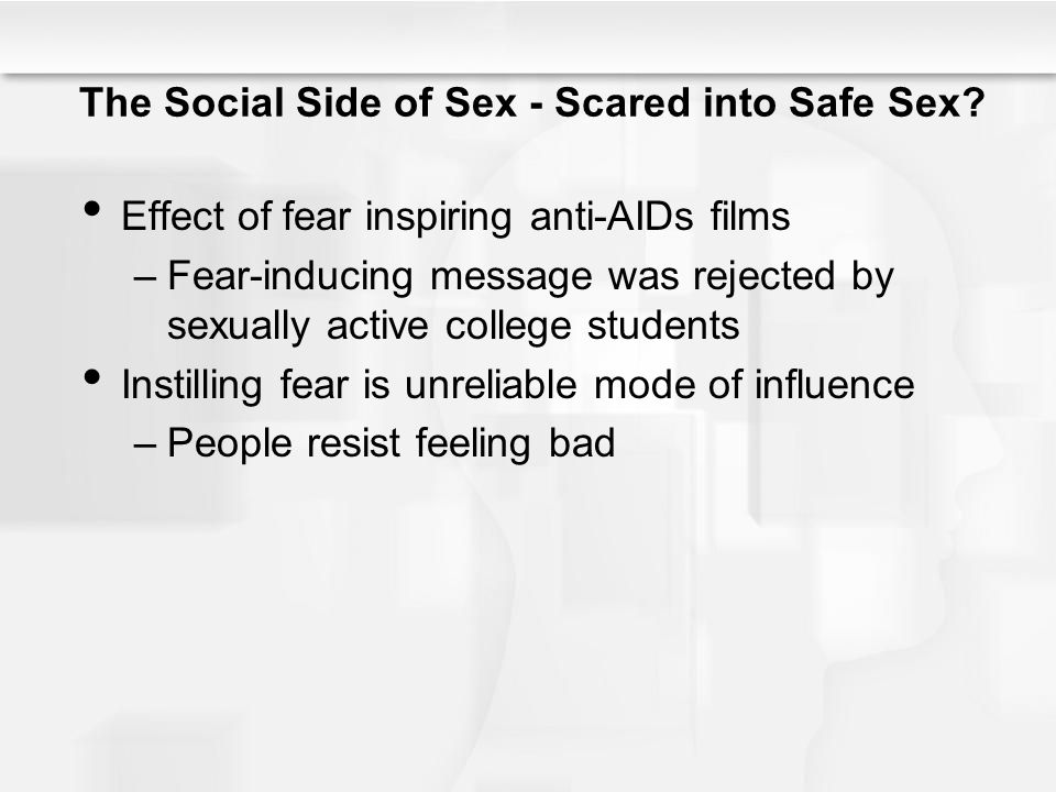 The Social Side of Sex - Scared into Safe Sex