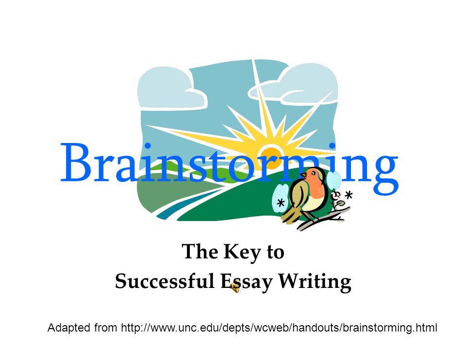 The Key to Successful Essay Writing