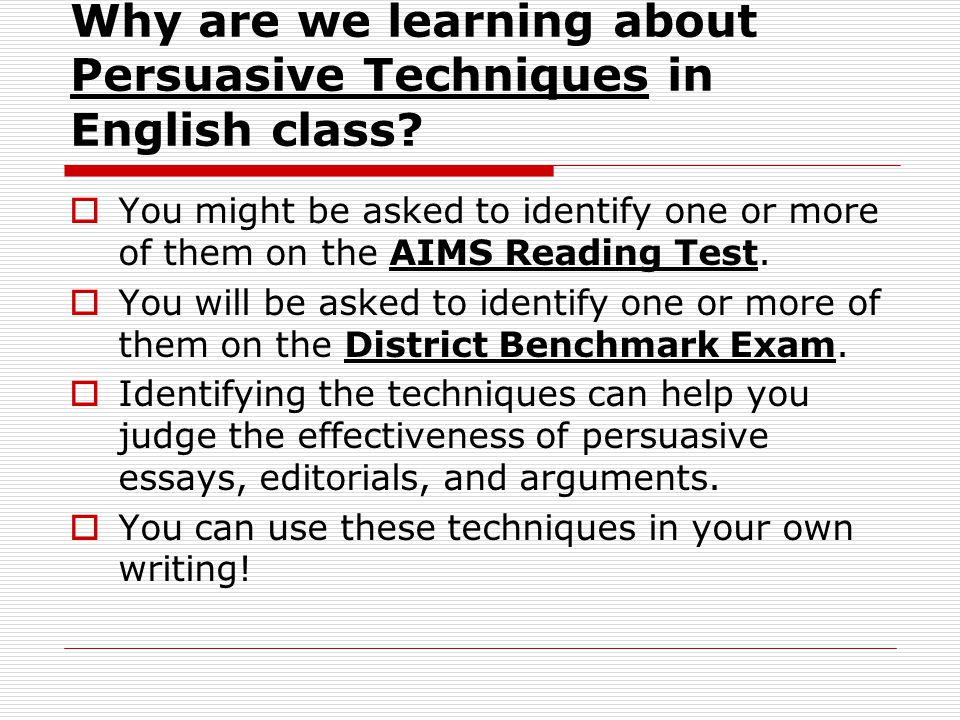 Essays Persuasive Techniques  Homework Writing Service  Essays Persuasive Techniques Essay Writing Scholarships For High School Students also Essay For Health  Thesis Statement For Education Essay