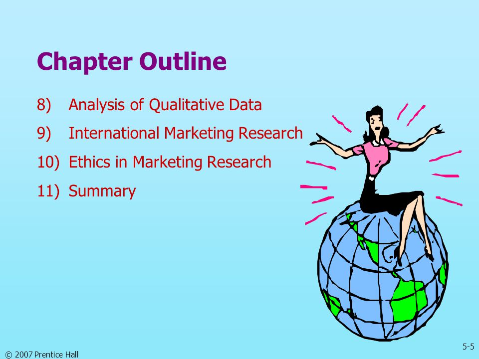 Chapter Outline Analysis of Qualitative Data