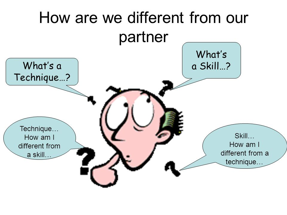 How are we different from our partner