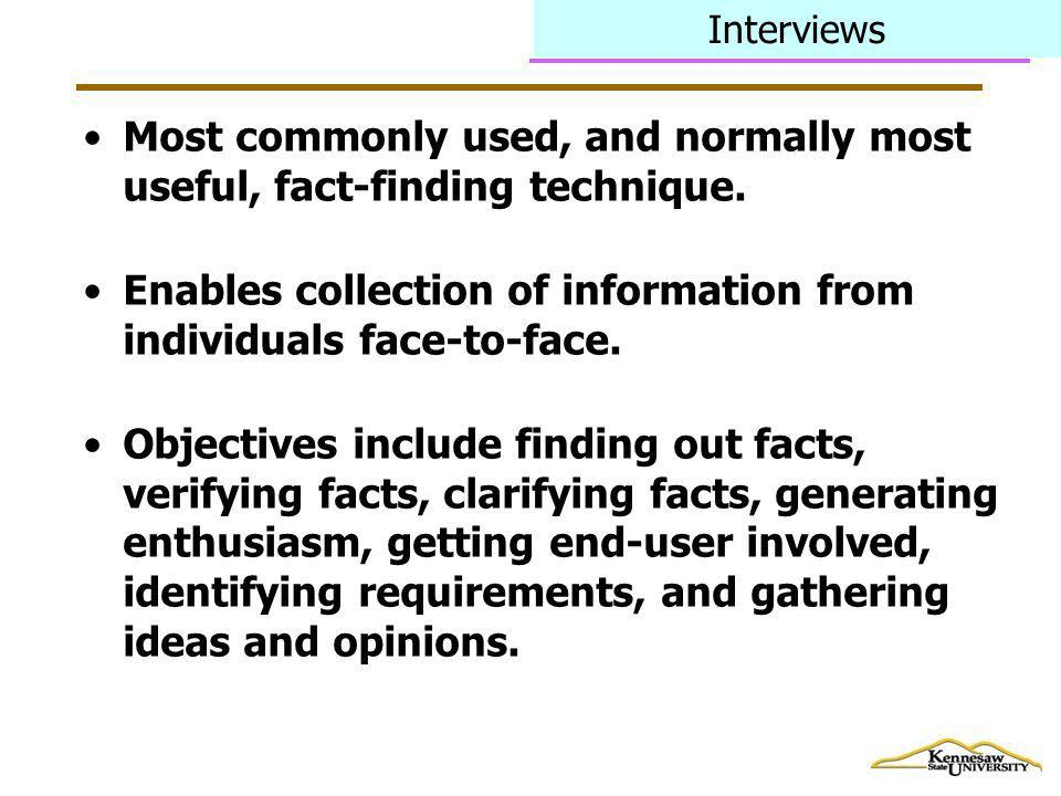Fact Finding Techniques Ppt Video Online Download