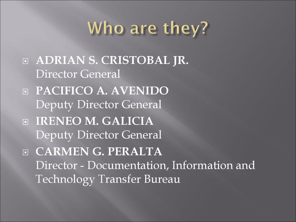 The intellectual property office of the philippines ppt download