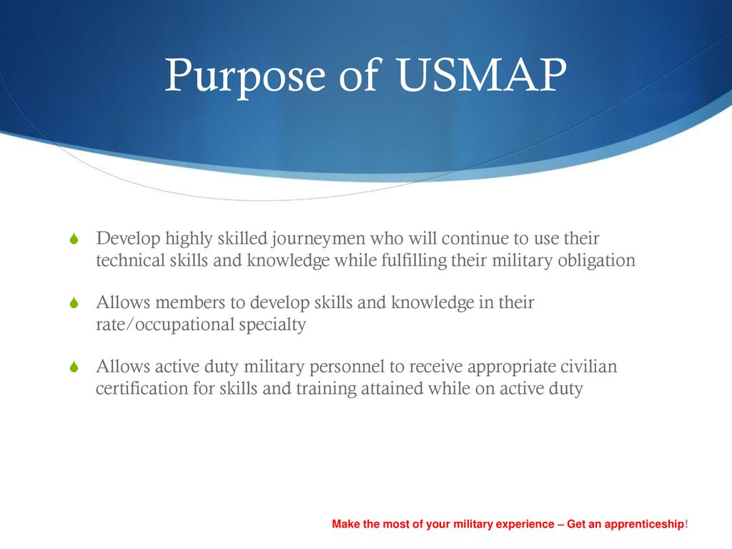 Us Map Certification.United Services Military Apprenticeship Program Ppt Download
