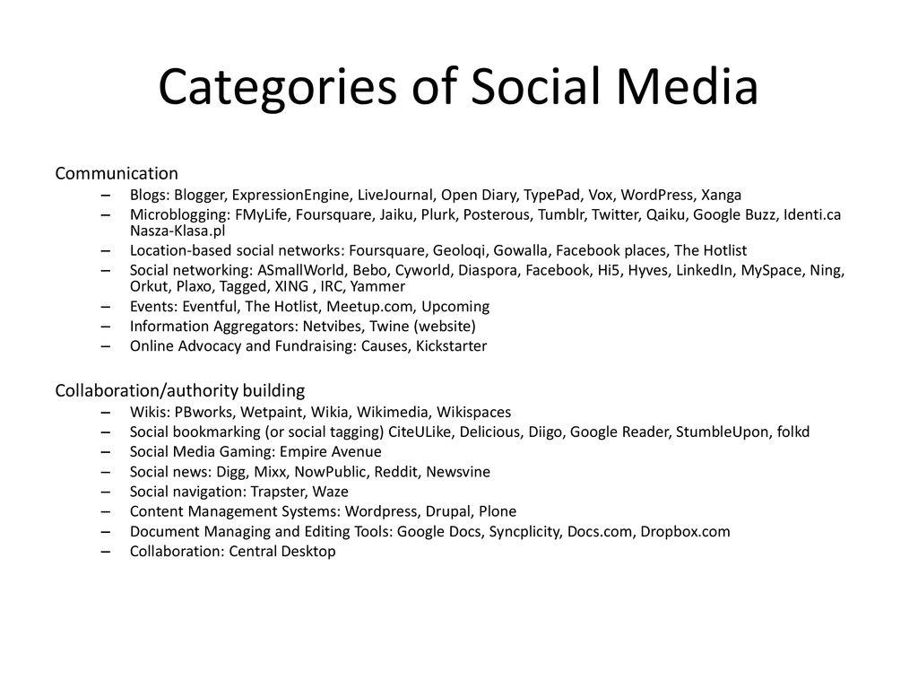 Social Media  - ppt download