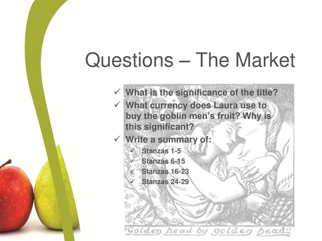 summary of the goblin market
