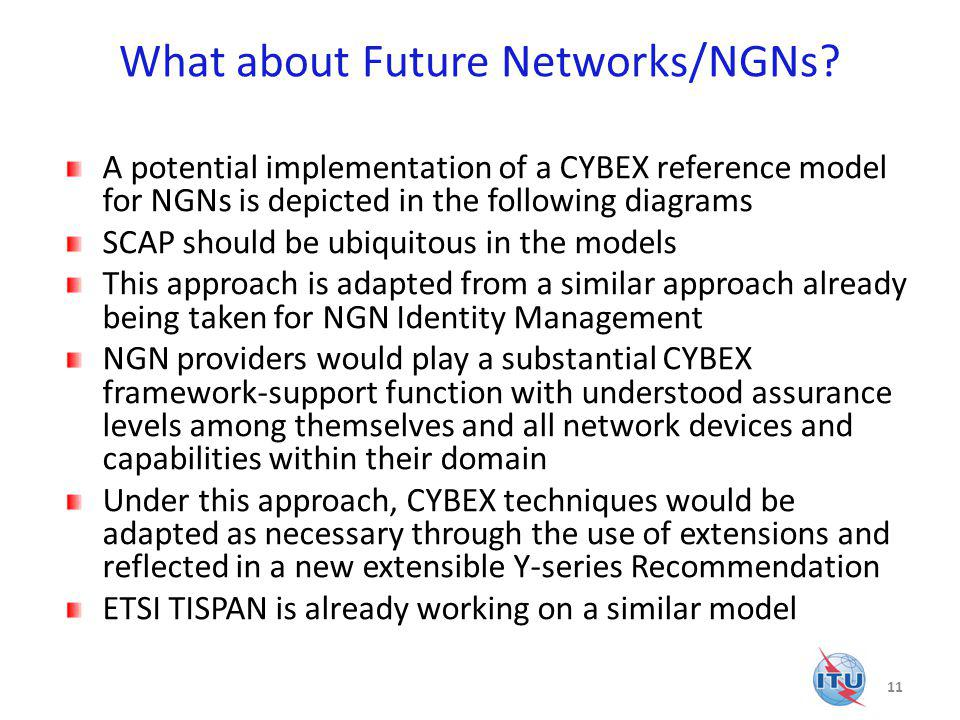 What about Future Networks/NGNs