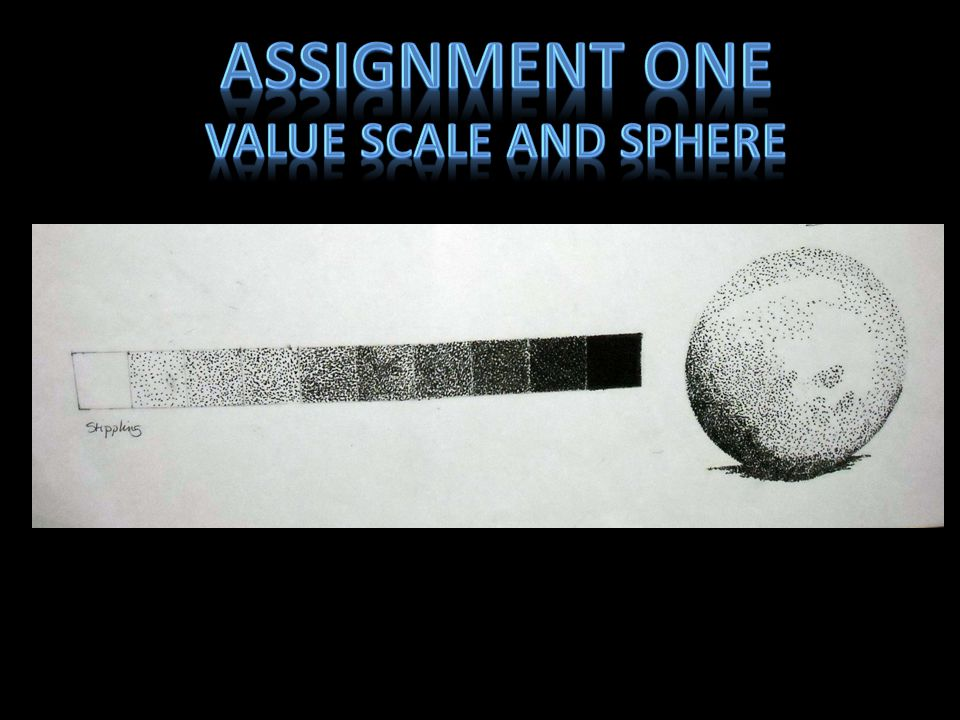 Assignment one Value Scale and sphere