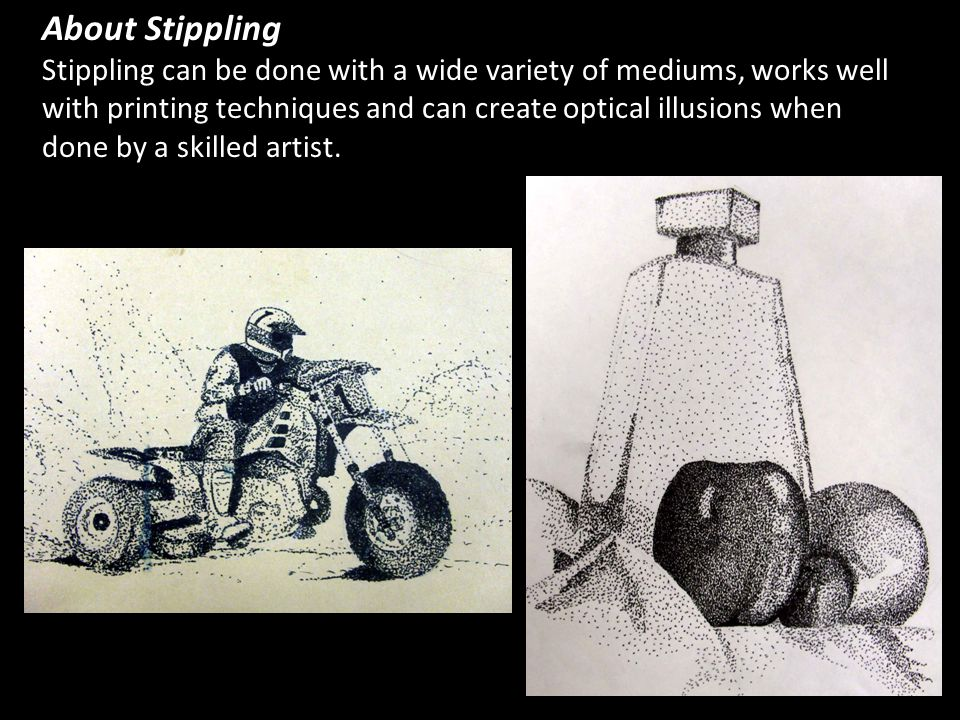 About Stippling