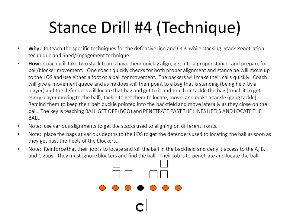 Stance Drill #4 (Technique)
