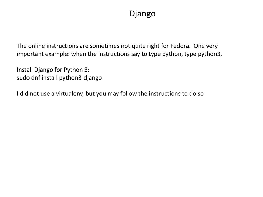 Introduction to Django - ppt download