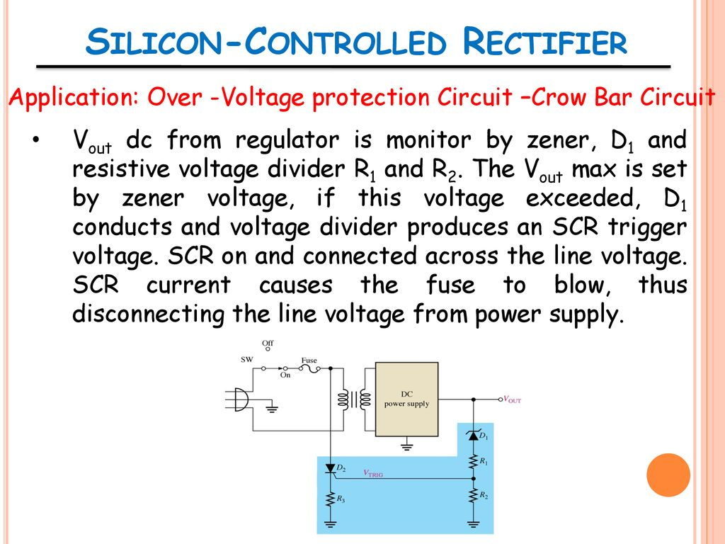 Ent 162 Analog Electronics Ppt Download Pics Photos Scr Power Control Circuit 29 Silicon Controlled Rectifier