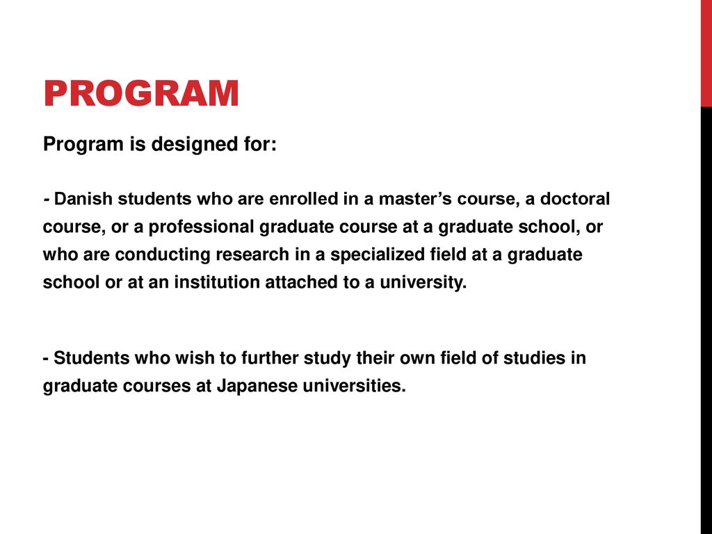 MEXT Scholarship for Research Students - ppt download