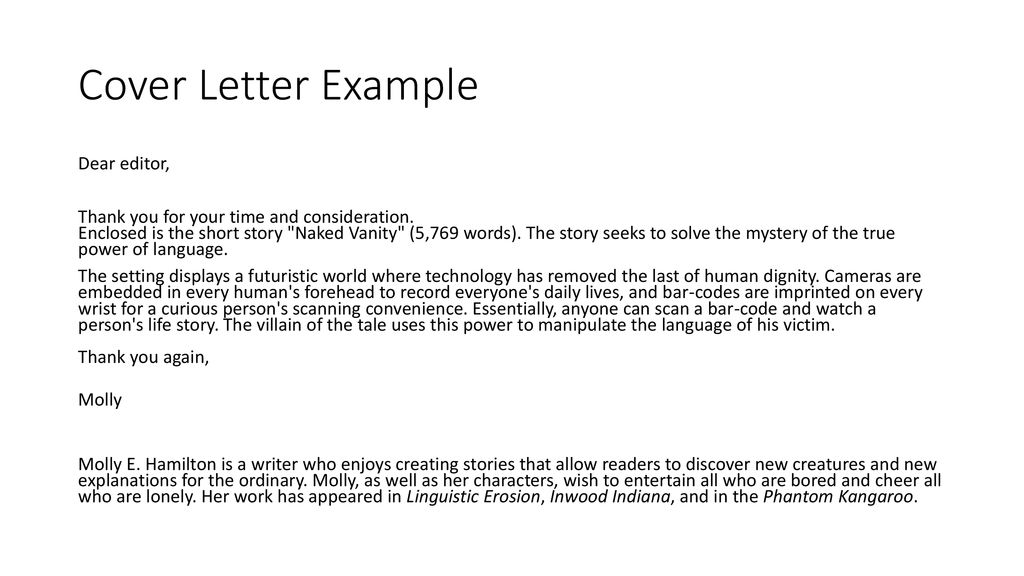Getting Fiction Short Stories Published Traditionally - ppt download