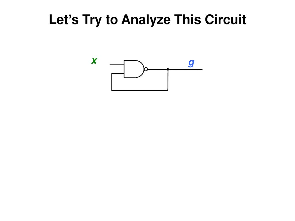 Completely Analyze This Circuit Where Instructor Alexander Stoytchev Ppt Download Lets Try To