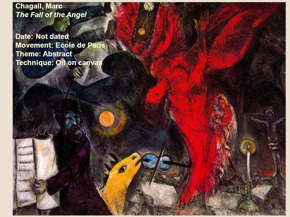 Chagall, Marc The Fall of the Angel