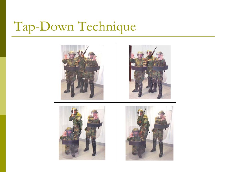 Tap-Down Technique