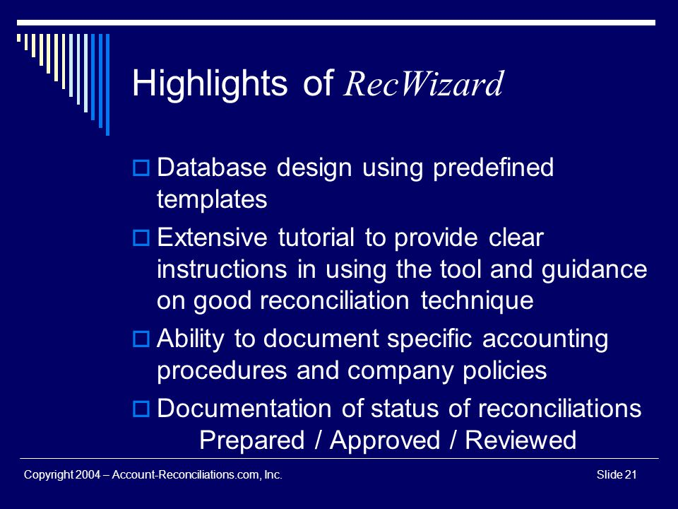 Highlights of RecWizard