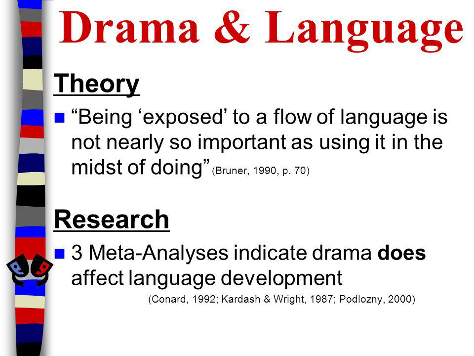 Drama & Language Theory Research