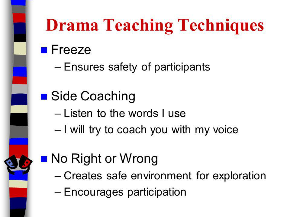 Drama Teaching Techniques