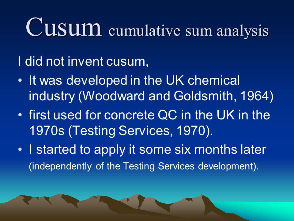 Multigrade,………………… Multivariable,……  Cusum…… Quality Control