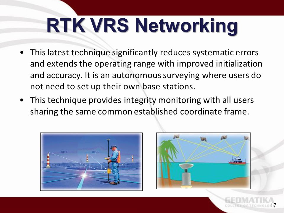 RTK VRS Networking