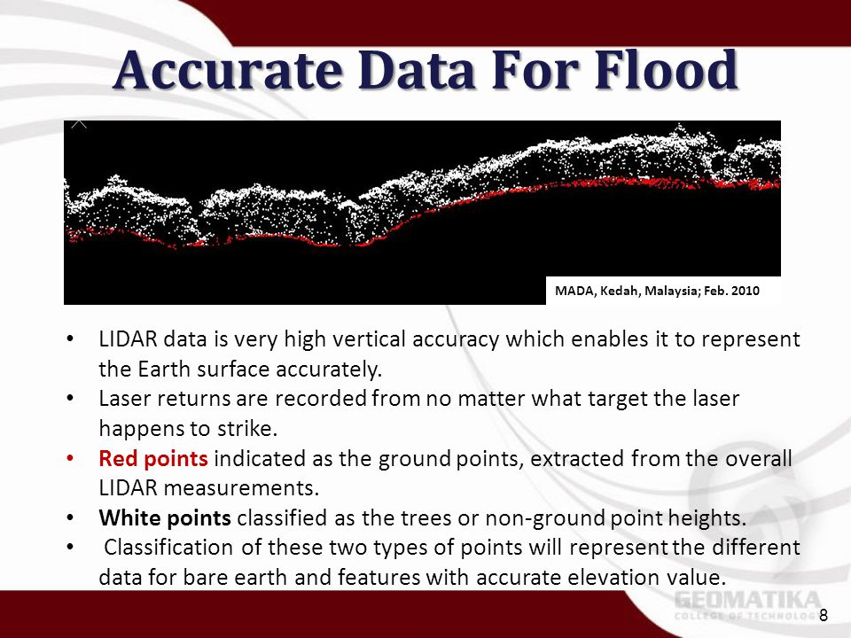 Accurate Data For Flood