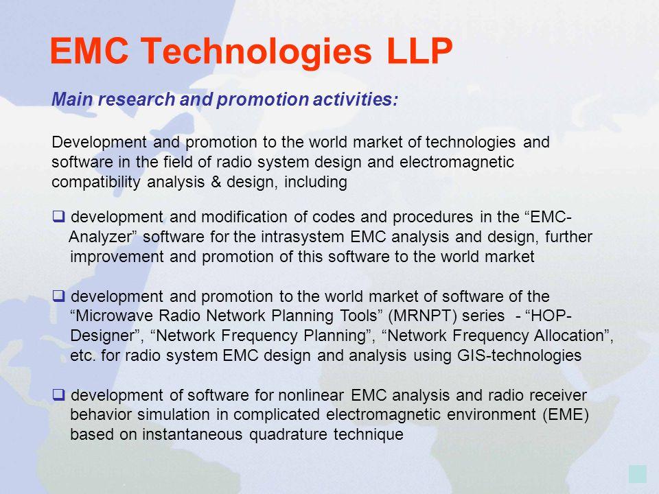 EMC - ANALYZER Electromagnetic compatibility analysis & synthesis
