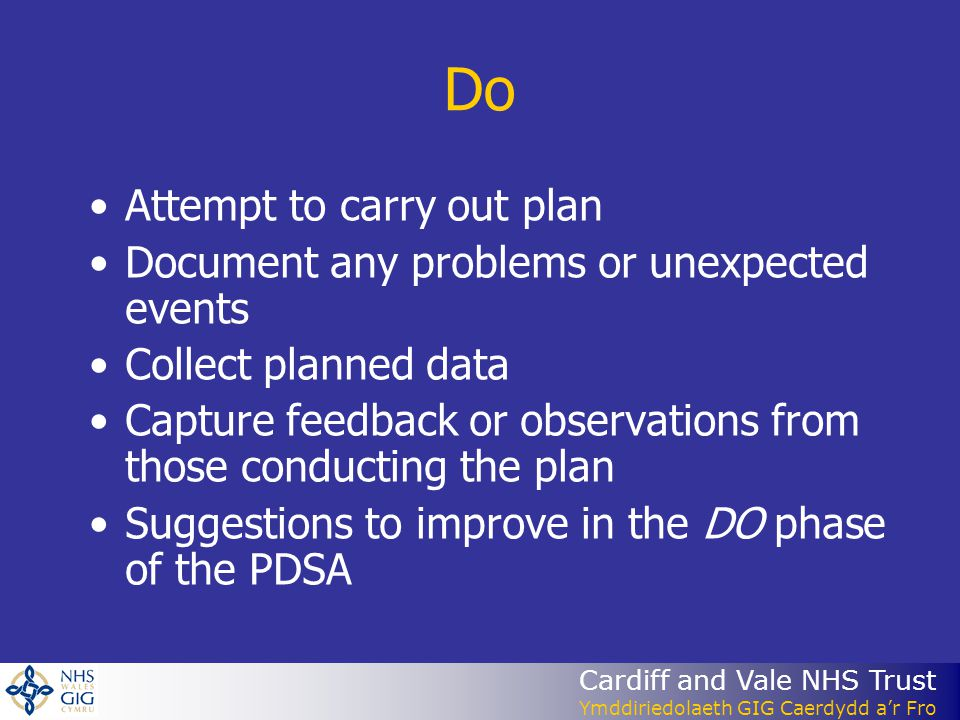 Do Attempt to carry out plan