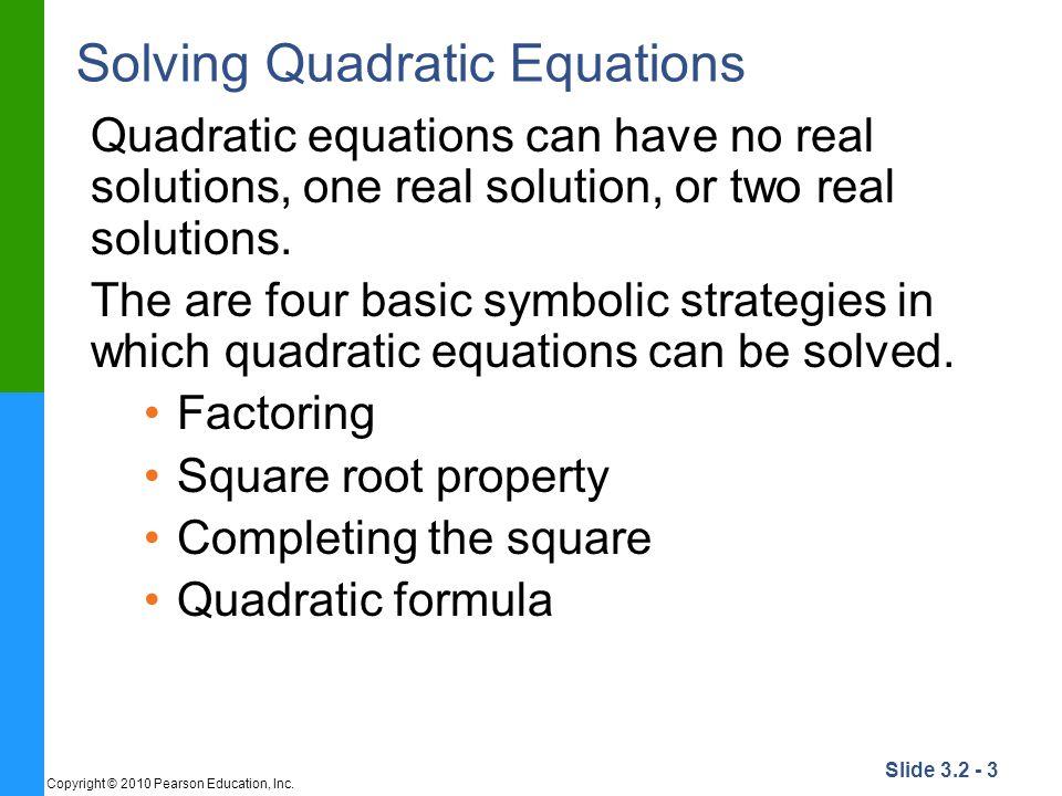 quadratic problem solving