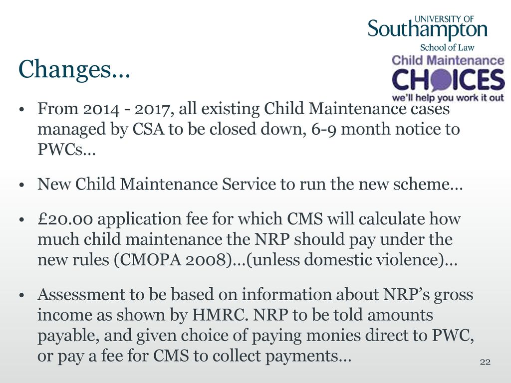 Child Support Law Laws 3091 The Future Of Child Maintenance Law A Change Of Approach Who Should Pay For The Upkeep Of Children Please Use The Dd Month Ppt Download