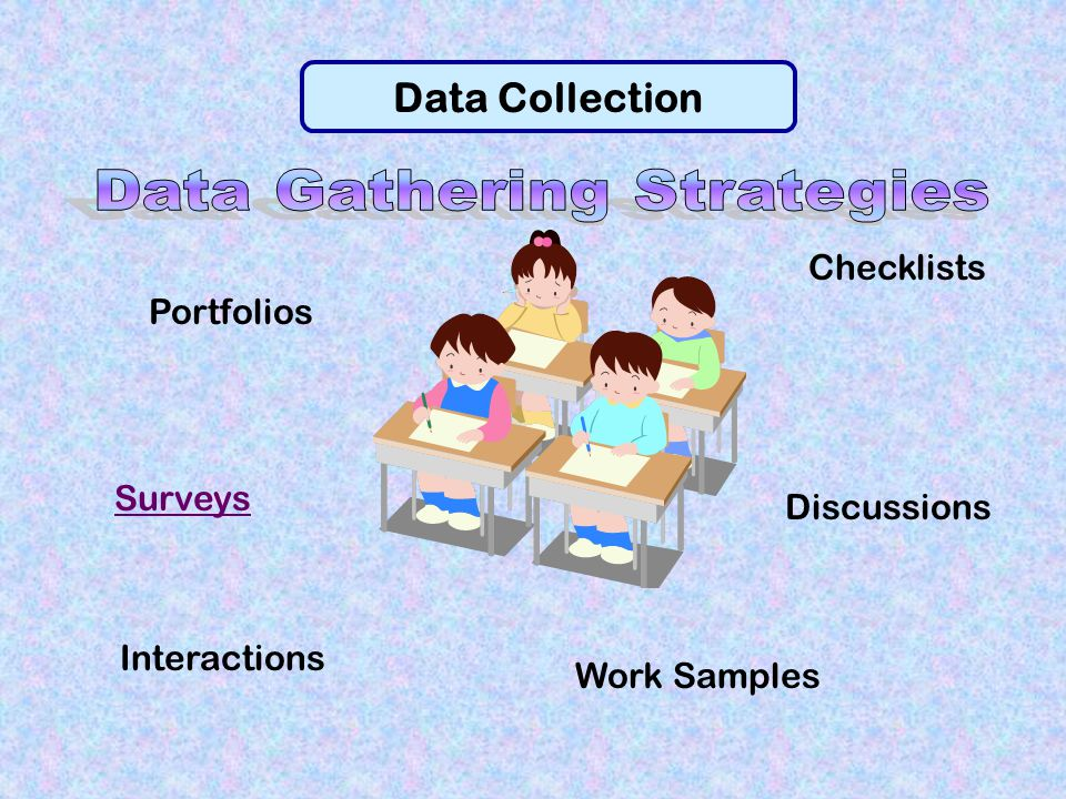 Data Gathering Strategies